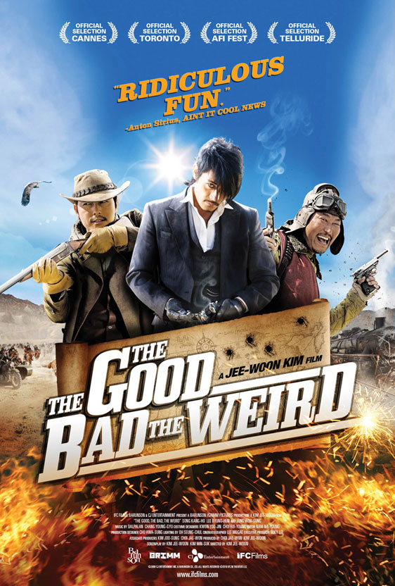 The Good, the Bad, and the Weird Poster #2