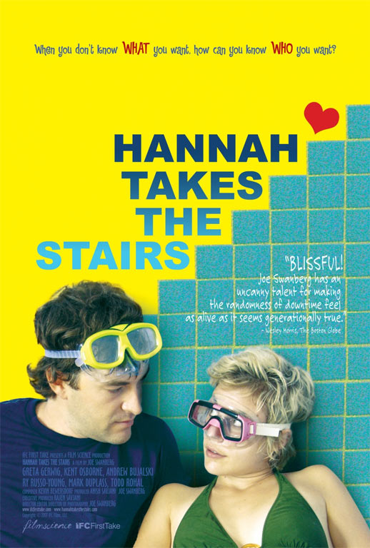Hannah Takes the Stairs Poster #1