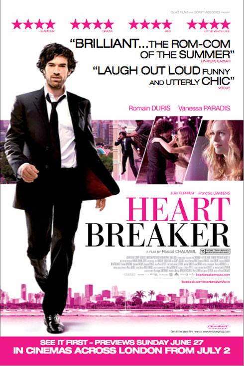 Heartbreaker (L'arnacoeur) Poster