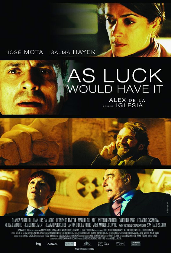 As Luck Would Have It Poster