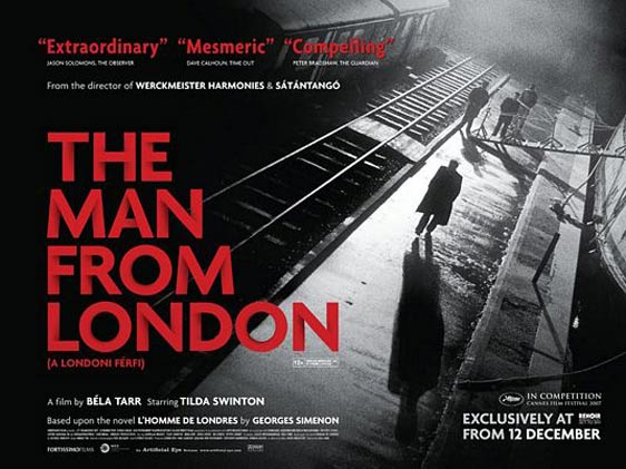 The Man from London (A londoni férfi) Poster