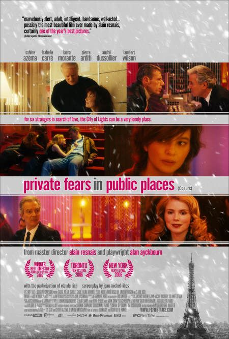 Private Fears in Public Places Poster