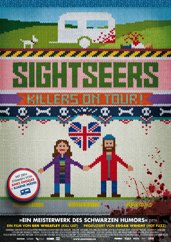 Sightseers Poster #8