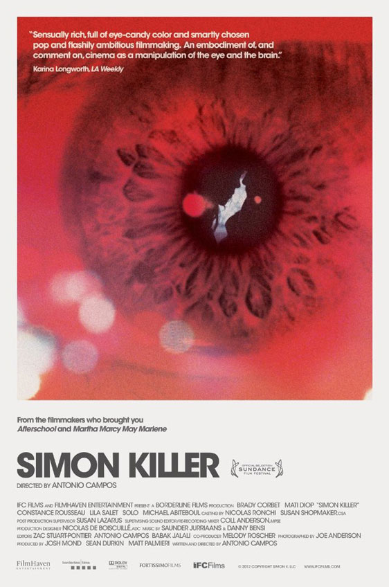 Simon Killer Poster #1