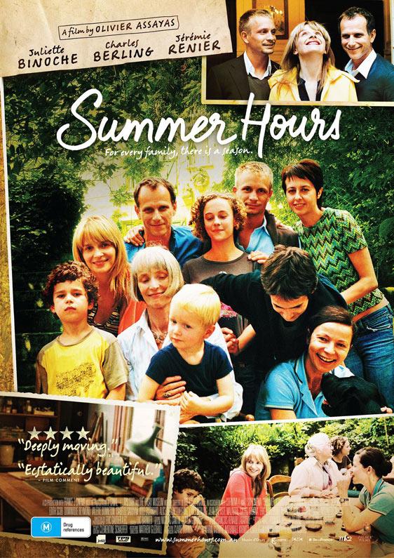 Summer Hours (L' Heure d'été) Poster