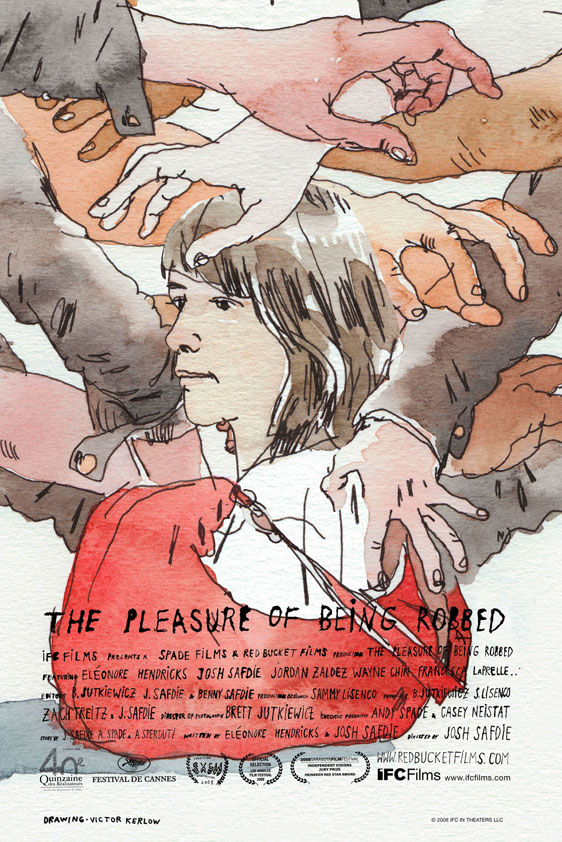 The Pleasure of Being Robbed Poster #2