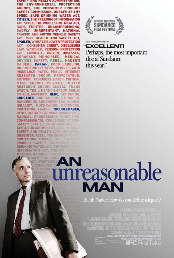 An Unreasonable Man Poster #1
