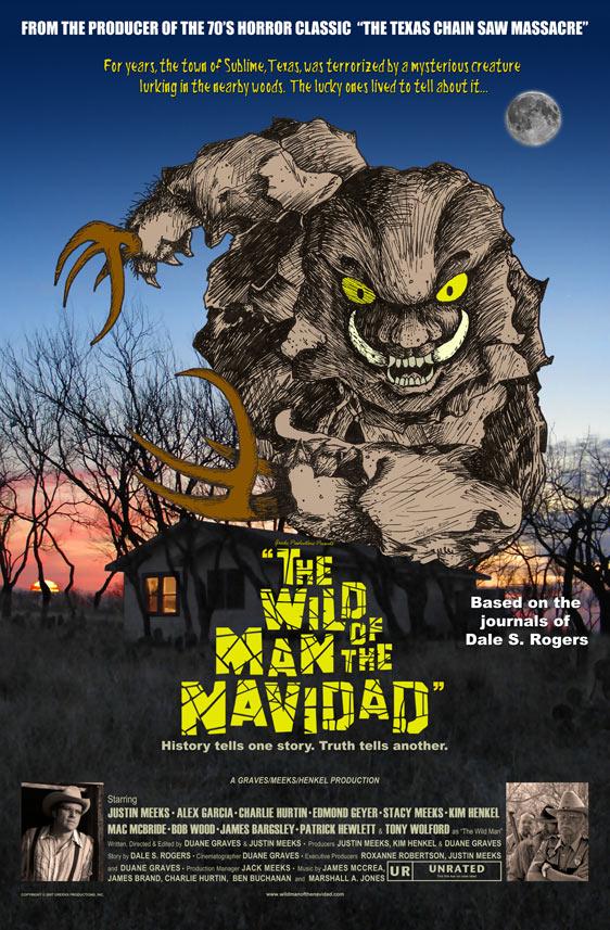 The Wild Man of the Navidad Poster #1