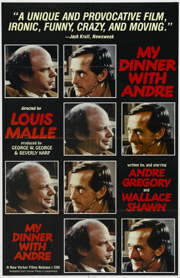 My Dinner with Andre Poster #1