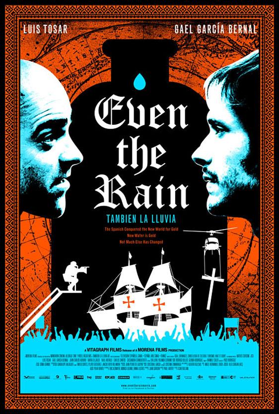 Even the Rain Poster #1