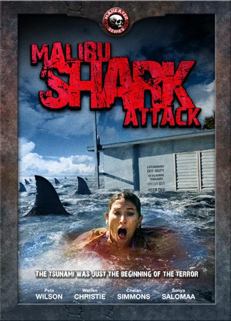 Malibu Shark Attack Poster #1