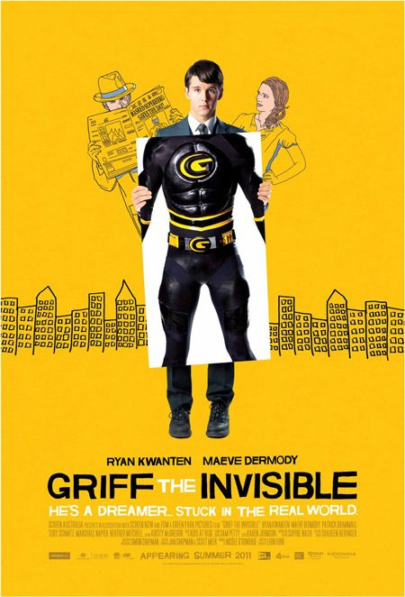 Griff the Invisible Poster #2