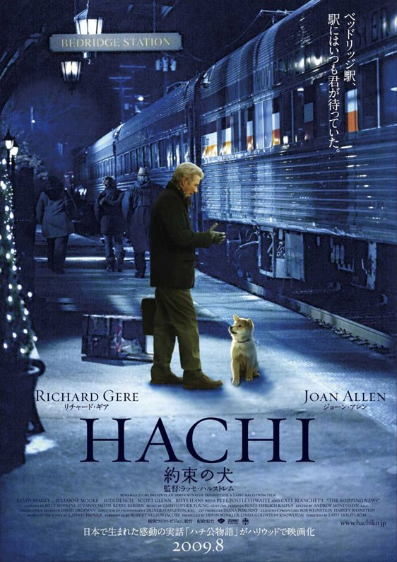 Hachi: A Dog's Tale Poster #2