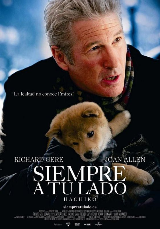 Hachi: A Dog's Tale Poster #3