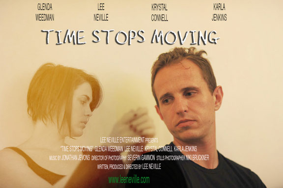 Time Stops Moving Poster #1