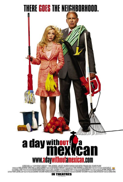 A Day Without a Mexican Poster