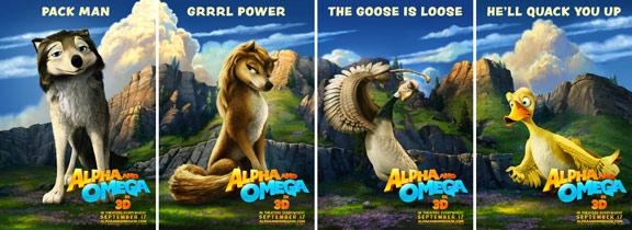 Alpha & Omega Poster #5