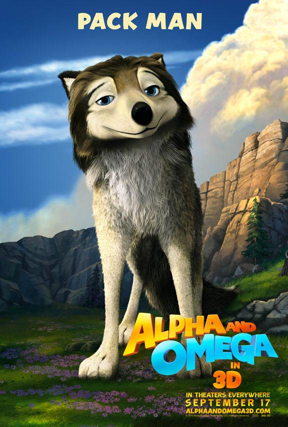 Alpha & Omega Poster