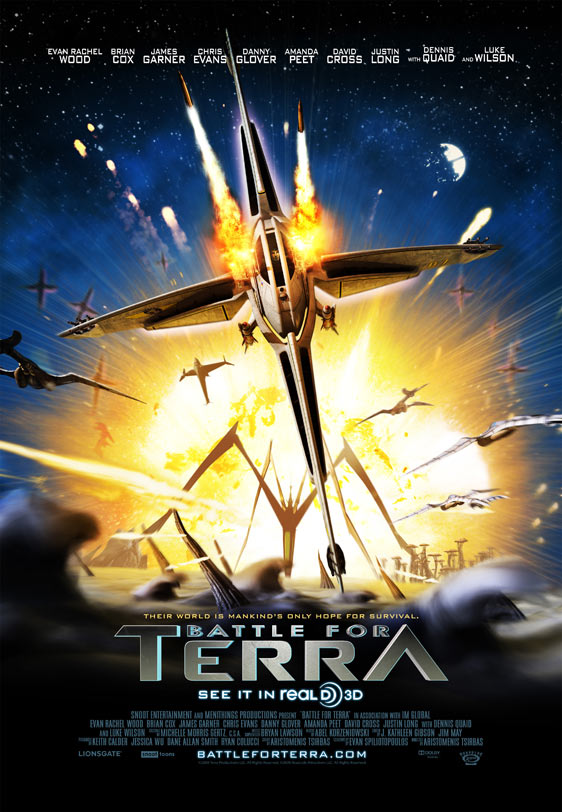 Battle for Terra Poster #3