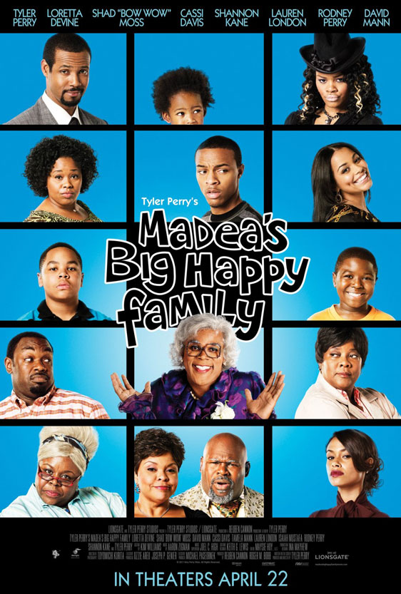 Madea's Big Happy Family Poster #5