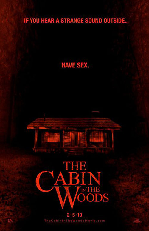The Cabin in the Woods Poster #2