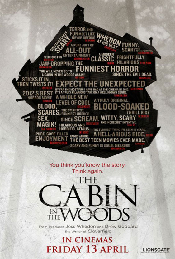 The Cabin in the Woods Poster #5