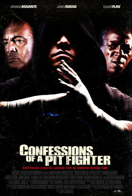 Confessions of a Pit Fighter Poster #1