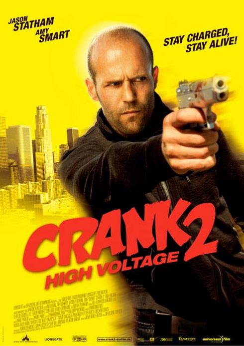 Crank 2: High Voltage Poster #3