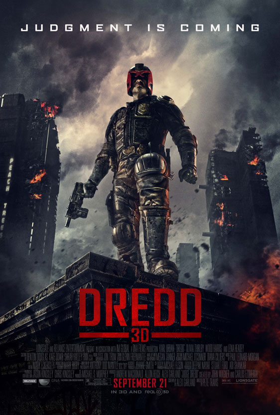 Dredd Poster #2
