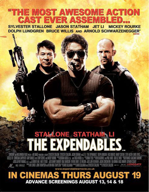 The Expendables Poster #10