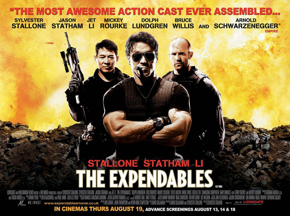 The Expendables Poster #11