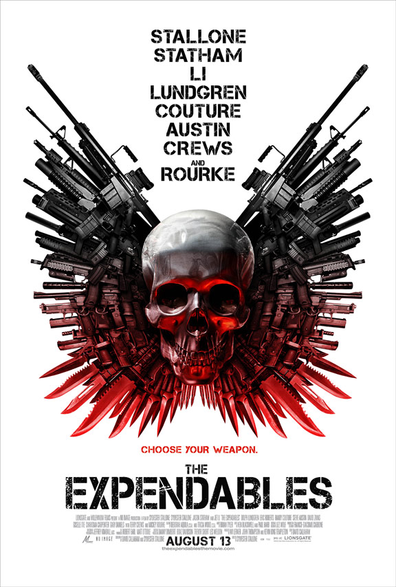 The Expendables Poster #7