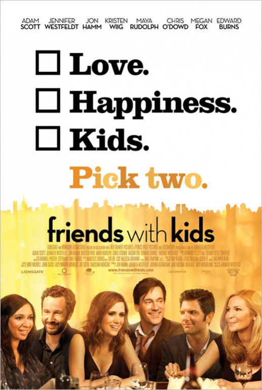 Friends with Kids Poster #2
