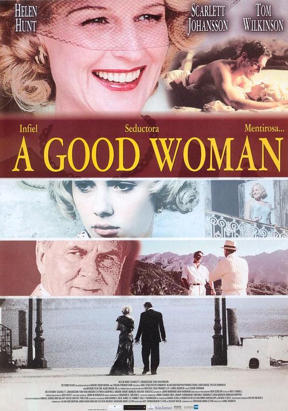 A Good Woman Poster #2