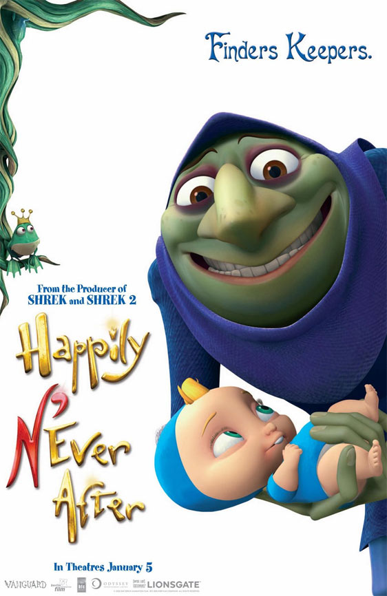 Happily N'Ever After Poster #3