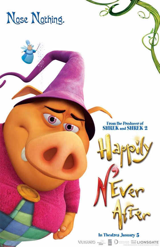Happily N'Ever After Poster #4
