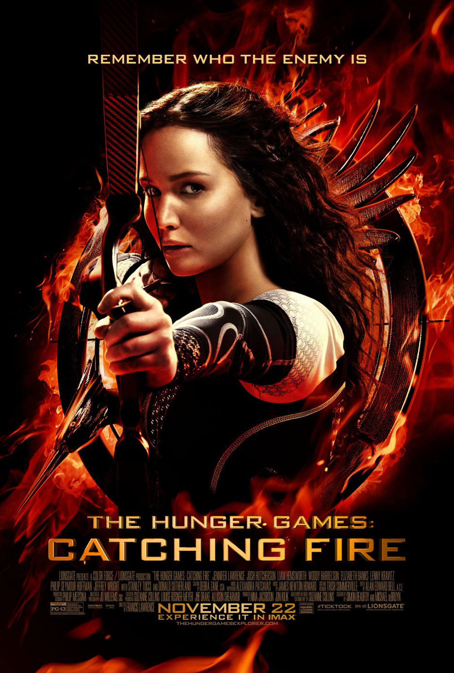 The Hunger Games: Catching Fire Poster #31