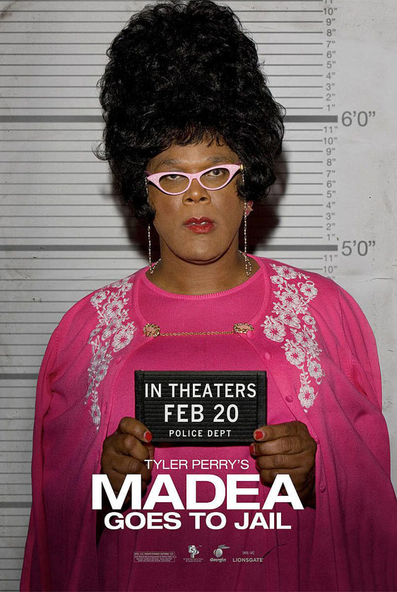 Tyler Perry's Madea Goes to Jail Poster #2
