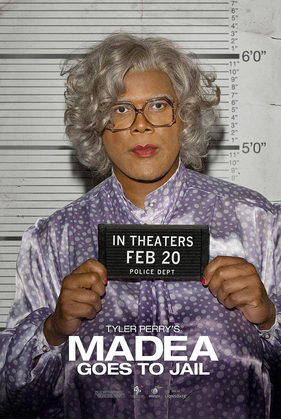 Tyler Perry's Madea Goes to Jail Poster #5