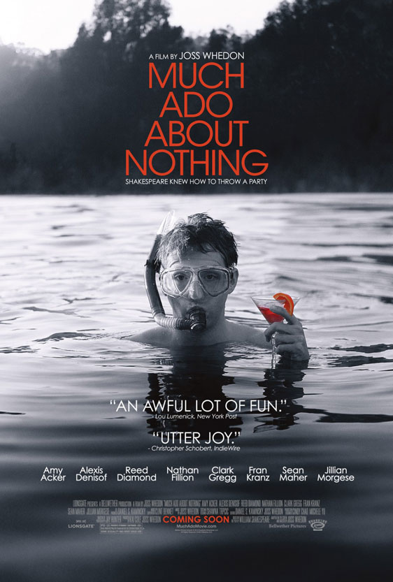 Much Ado About Nothing Poster #2