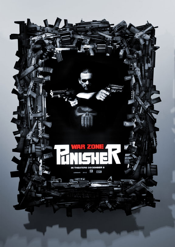 Punisher: War Zone Poster #7
