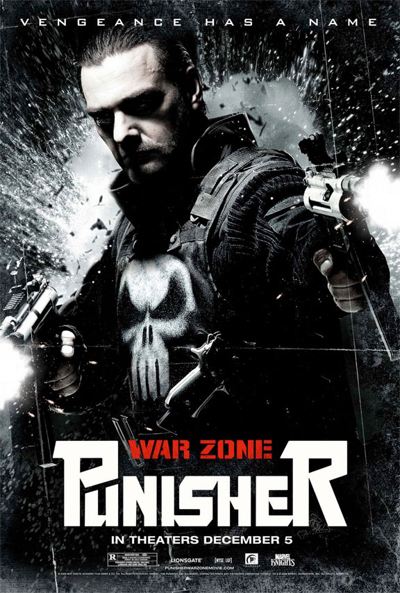 Punisher: War Zone Poster #9