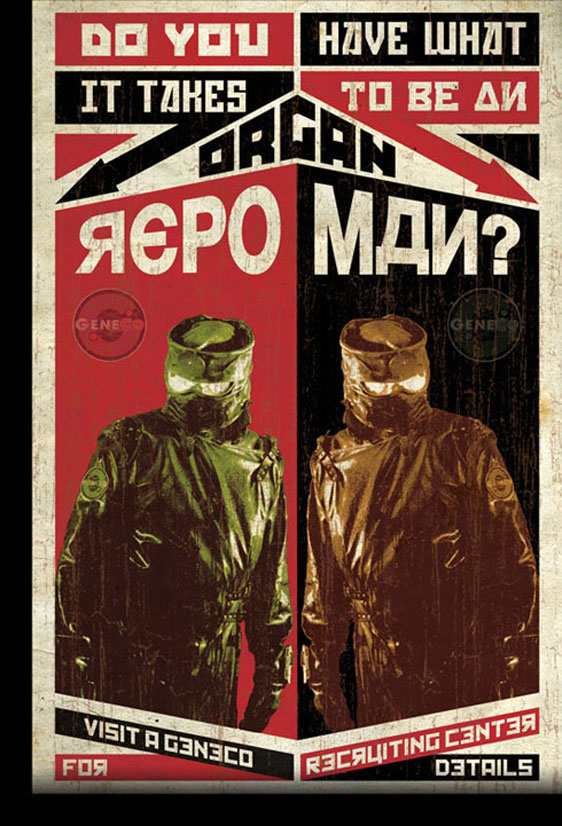 Repo! The Genetic Opera Poster #2