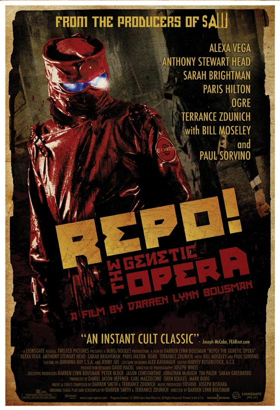 Repo! The Genetic Opera Poster #3