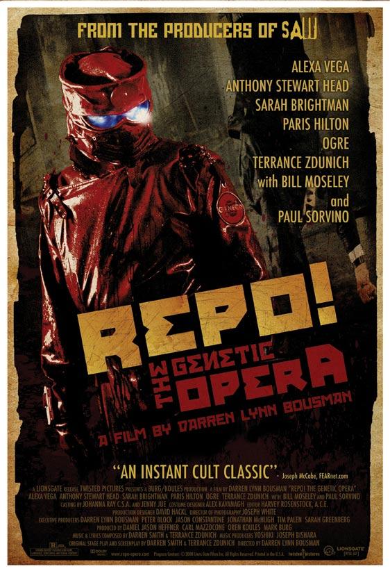 Repo! The Genetic Opera Poster #3