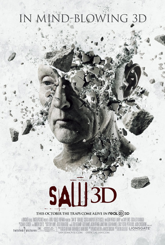 Saw 3D Poster #2