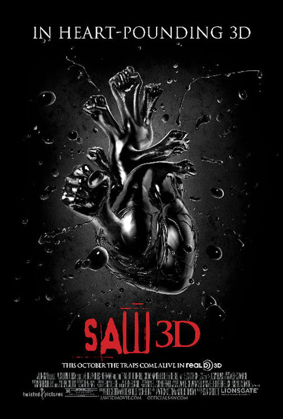 Saw 3D Poster #3