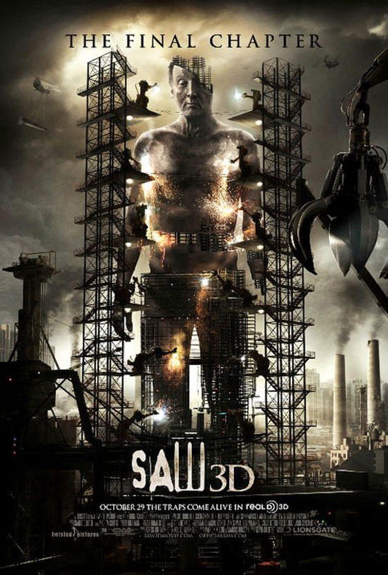 Saw 3D Poster #4