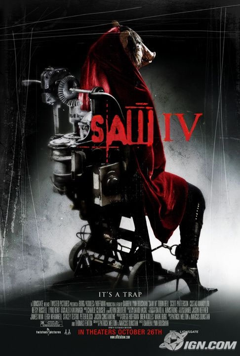 Saw IV Poster #3