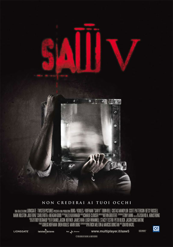 Saw V Poster #6